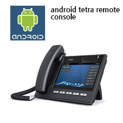 안드로이드 TETRA 리모트 콘솔 ( OEM수출문의 )