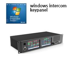 윈도우 임배디드 지령대 콘솔, 인터컴 키패널